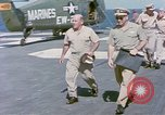 Image of Admiral John Hyland Pearl Harbor Hawaii USA, 1969, second 7 stock footage video 65675031050