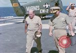 Image of Admiral John Hyland Pearl Harbor Hawaii USA, 1969, second 8 stock footage video 65675031050