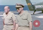 Image of Admiral John Hyland Pearl Harbor Hawaii USA, 1969, second 10 stock footage video 65675031050