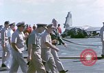 Image of Admiral John Hyland Pearl Harbor Hawaii USA, 1969, second 12 stock footage video 65675031050