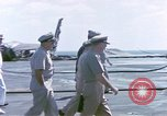 Image of Admiral John Hyland Pearl Harbor Hawaii USA, 1969, second 14 stock footage video 65675031050