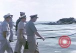 Image of Admiral John Hyland Pearl Harbor Hawaii USA, 1969, second 15 stock footage video 65675031050