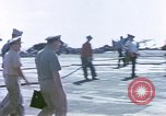 Image of Admiral John Hyland Pearl Harbor Hawaii USA, 1969, second 16 stock footage video 65675031050