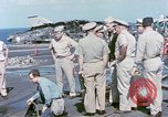 Image of Admiral John Hyland Pearl Harbor Hawaii USA, 1969, second 24 stock footage video 65675031050