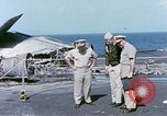 Image of Admiral John Hyland Pearl Harbor Hawaii USA, 1969, second 32 stock footage video 65675031050