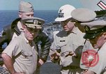 Image of Admiral John Hyland Pearl Harbor Hawaii USA, 1969, second 48 stock footage video 65675031050