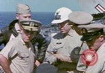 Image of Admiral John Hyland Pearl Harbor Hawaii USA, 1969, second 49 stock footage video 65675031050