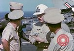Image of Admiral John Hyland Pearl Harbor Hawaii USA, 1969, second 52 stock footage video 65675031050