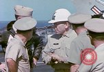 Image of Admiral John Hyland Pearl Harbor Hawaii USA, 1969, second 53 stock footage video 65675031050