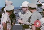 Image of Admiral John Hyland Pearl Harbor Hawaii USA, 1969, second 54 stock footage video 65675031050