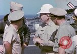 Image of Admiral John Hyland Pearl Harbor Hawaii USA, 1969, second 55 stock footage video 65675031050