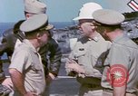 Image of Admiral John Hyland Pearl Harbor Hawaii USA, 1969, second 56 stock footage video 65675031050