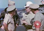Image of Admiral John Hyland Pearl Harbor Hawaii USA, 1969, second 57 stock footage video 65675031050