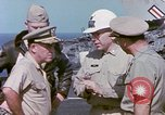 Image of Admiral John Hyland Pearl Harbor Hawaii USA, 1969, second 59 stock footage video 65675031050