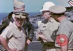 Image of Admiral John Hyland Pearl Harbor Hawaii USA, 1969, second 60 stock footage video 65675031050