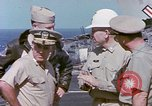 Image of Admiral John Hyland Pearl Harbor Hawaii USA, 1969, second 61 stock footage video 65675031050