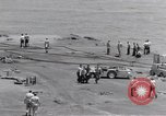 Image of USS Forrestal cleanup after fire Gulf of Tonkin Vietnam, 1967, second 36 stock footage video 65675031061
