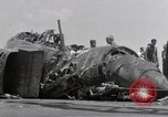 Image of USS Forrestal fire cleanup Gulf of Tonkin Vietnam, 1967, second 25 stock footage video 65675031062