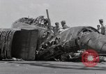 Image of USS Forrestal fire cleanup Gulf of Tonkin Vietnam, 1967, second 26 stock footage video 65675031062