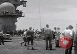 Image of USS Forrestal fire cleanup Gulf of Tonkin Vietnam, 1967, second 43 stock footage video 65675031062