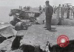 Image of USS Forrestal damage from fire Gulf of Tonkin Vietnam, 1967, second 24 stock footage video 65675031063