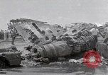 Image of USS Forrestal damage from fire Gulf of Tonkin Vietnam, 1967, second 38 stock footage video 65675031063