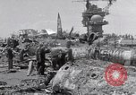 Image of USS Forrestal damage from fire Gulf of Tonkin Vietnam, 1967, second 53 stock footage video 65675031063