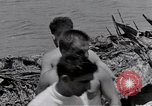 Image of USS Forrestal damage from fire Gulf of Tonkin Vietnam, 1967, second 60 stock footage video 65675031063