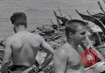 Image of USS Forrestal damage from fire Gulf of Tonkin Vietnam, 1967, second 62 stock footage video 65675031063