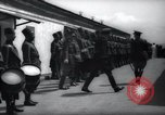 Image of Gendarmerie Inspection Tangier Morocco, 1938, second 19 stock footage video 65675031072