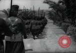 Image of Gendarmerie Inspection Tangier Morocco, 1938, second 42 stock footage video 65675031072