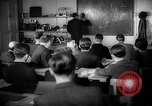 Image of Jewish refugees in class Paris France, 1938, second 13 stock footage video 65675031080