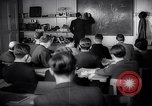 Image of Jewish refugees in class Paris France, 1938, second 14 stock footage video 65675031080