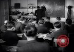 Image of Jewish refugees in class Paris France, 1938, second 15 stock footage video 65675031080