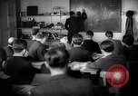 Image of Jewish refugees in class Paris France, 1938, second 16 stock footage video 65675031080