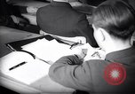 Image of Jewish refugees in class Paris France, 1938, second 17 stock footage video 65675031080