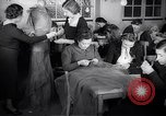 Image of Jewish refugees learn sewing Paris France, 1938, second 3 stock footage video 65675031081