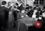 Image of Jewish refugees learn sewing Paris France, 1938, second 10 stock footage video 65675031081
