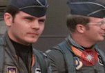 Image of F-4E aircraft and crew prepare and takeoff from Ramstein Air Base Ramstein Germany, 1969, second 3 stock footage video 65675031085