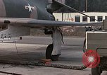 Image of F-4E aircraft and crew prepare and takeoff from Ramstein Air Base Ramstein Germany, 1969, second 8 stock footage video 65675031085