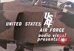 Image of F-4E aircraft and crew prepare and takeoff from Ramstein Air Base Ramstein Germany, 1969, second 20 stock footage video 65675031085