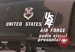 Image of F-4E aircraft and crew prepare and takeoff from Ramstein Air Base Ramstein Germany, 1969, second 21 stock footage video 65675031085