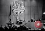 Image of Soviet MiG fighters harass German parliament Berlin Germany, 1965, second 29 stock footage video 65675031141