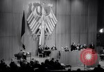 Image of Soviet MiG fighters harass German parliament Berlin Germany, 1965, second 30 stock footage video 65675031141