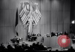 Image of Soviet MiG fighters harass German parliament Berlin Germany, 1965, second 31 stock footage video 65675031141