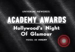 Image of 37th Academy Awards Hollywood Los Angeles California USA, 1965, second 2 stock footage video 65675031142
