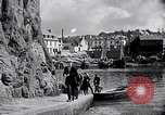 Image of Ville Close Concarneau Brittany France, 1931, second 36 stock footage video 65675031147