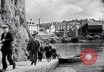 Image of Ville Close Concarneau Brittany France, 1931, second 40 stock footage video 65675031147