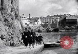 Image of Ville Close Concarneau Brittany France, 1931, second 43 stock footage video 65675031147