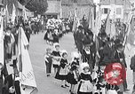 Image of Festival in Brittany Pont l'Abbe Bretagne France, 1931, second 1 stock footage video 65675031150